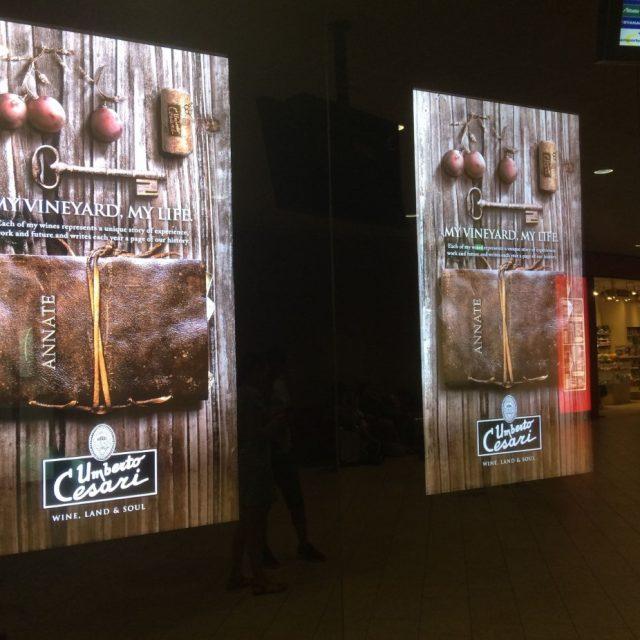 Schermi pubblicitari
