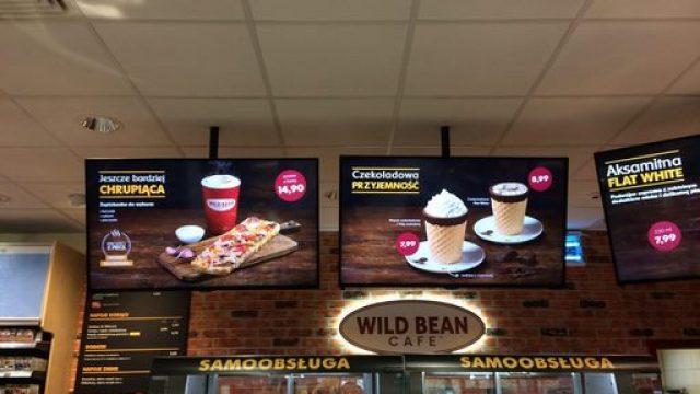 Monitor pubblicitari nei locali
